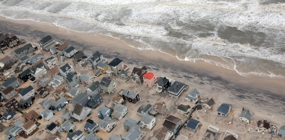 Houses on the New Jersey shore